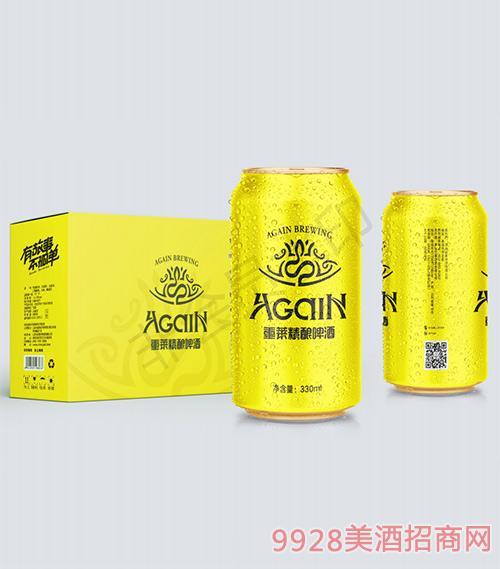 重莱精酿啤酒罐装330ml