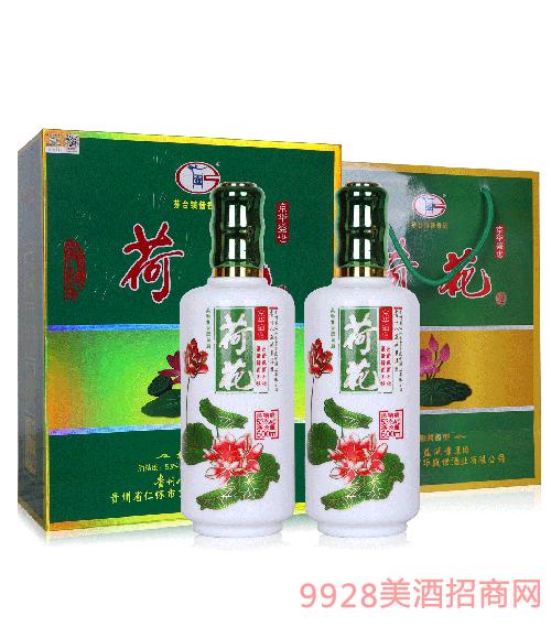 京�A盛世荷花酒V80-53度500ml