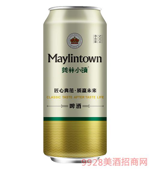 美林小鎮啤酒500ml金罐