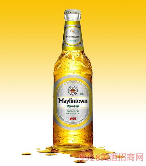 美林小鎮啤酒330ML白瓶