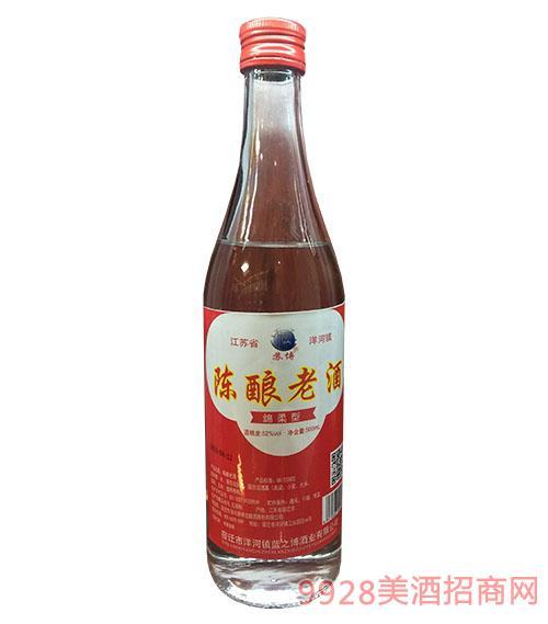 ��老酒�d柔型52度500ml