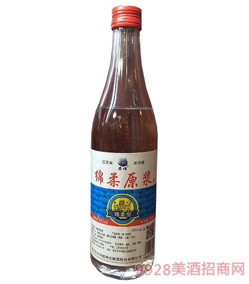 绵柔原浆酒42度500ml