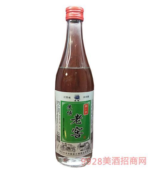 新一代�K博老窖酒52度500ml
