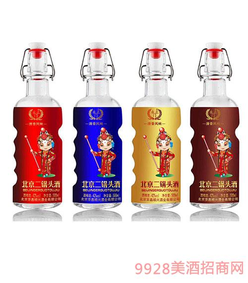 永正门北京二锅头酒42度500ml