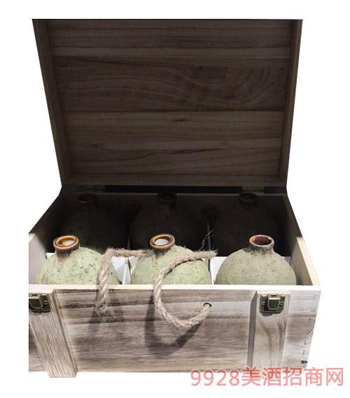 原浆酒木箱装