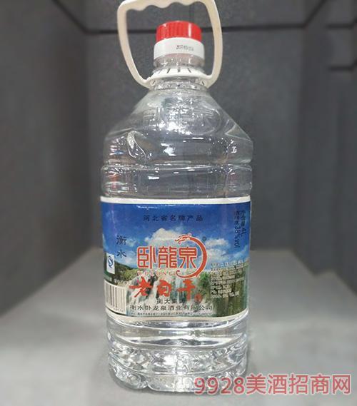 卧龙泉老白干酒38度4L