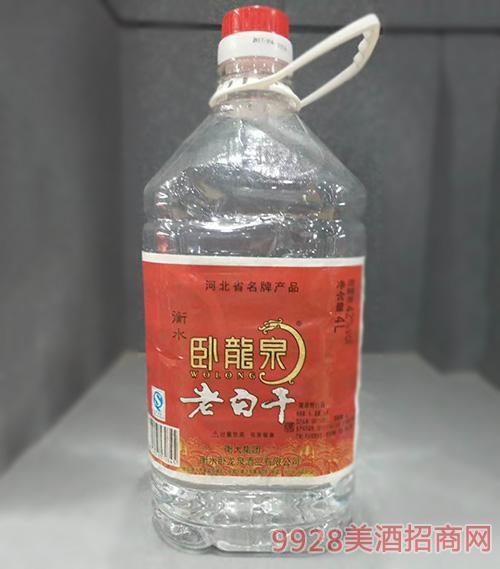 卧龙泉老白干酒42度4L