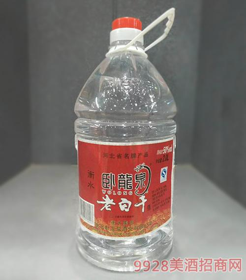 卧龙泉老白干酒50度2L