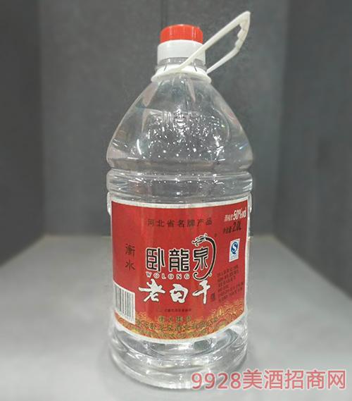 �P��泉老白干酒50度2L