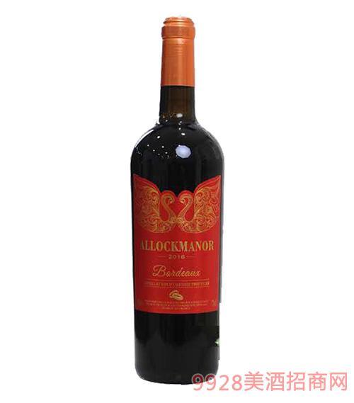 阿洛克酒庄·天鹅干红葡萄酒13度750ml