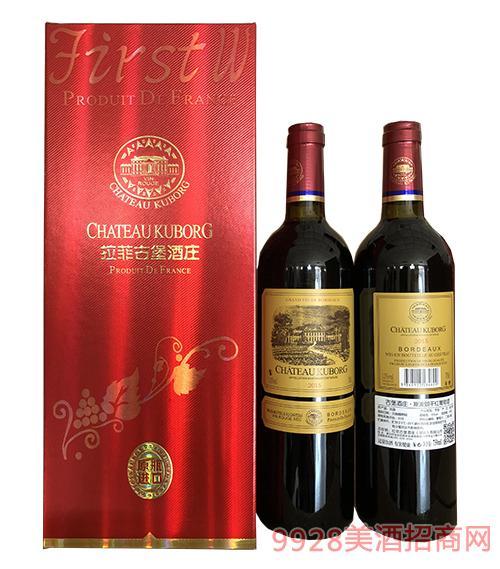 古堡酒庄斯波朗干红葡萄酒750ml
