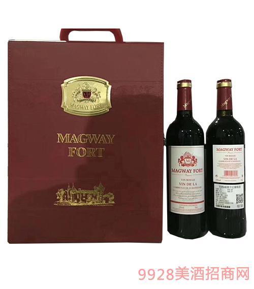 玛格城堡干红葡萄酒