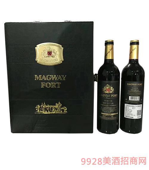 玛格城堡黑标干红葡萄酒