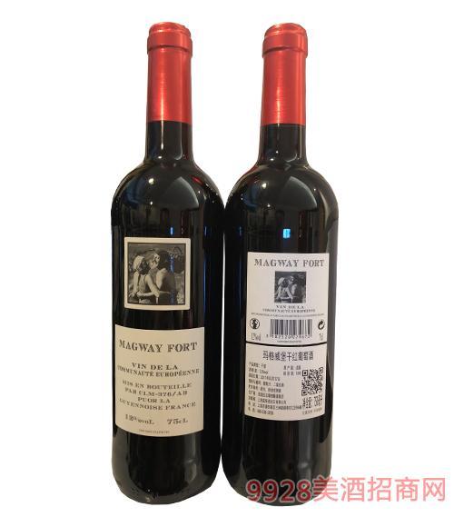 玛格威堡干红葡萄酒750ml