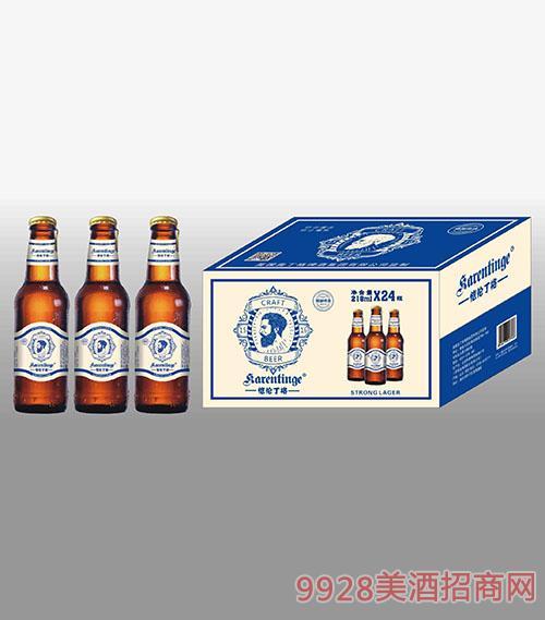 瓶装恺伦丁格啤酒