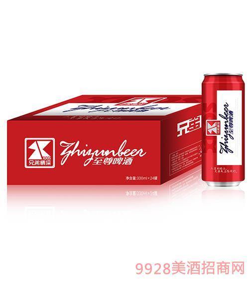 兄弟情深至尊啤酒330mlx24