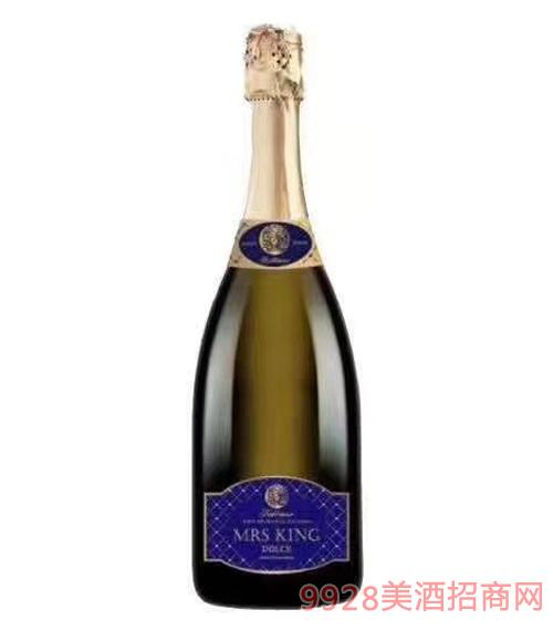 金夫人甜白起泡葡萄酒9.5度750mlx6