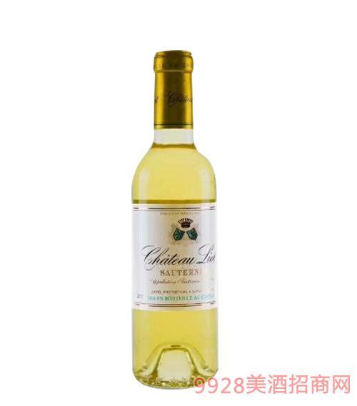 里维欧庄园苏玳贵腐甜白葡萄酒14度375mlx12