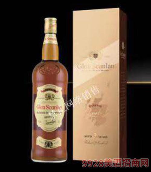 格兰沙朗威士忌酒40度1000ml