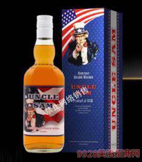 山姆大叔威士忌酒40度700ml