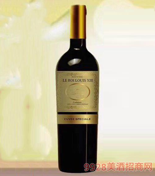 路易十三红葡萄酒13.5度750mlx6