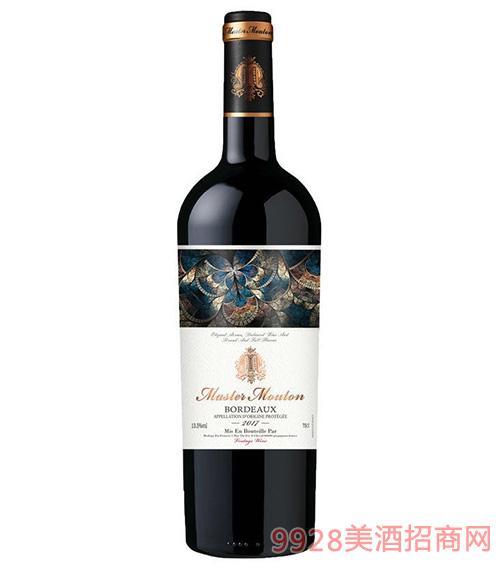 木桐大师级佳酿干红葡萄酒13.5度750mlx6
