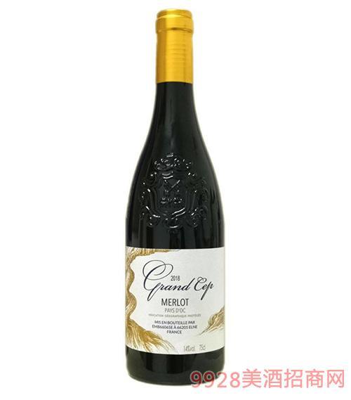 威滕梅洛干红葡萄酒14度750mlx6