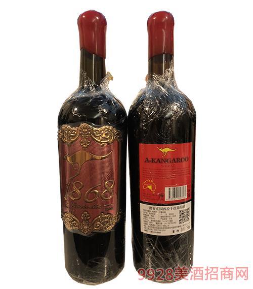 澳谷庄园西拉干红葡萄酒750ml