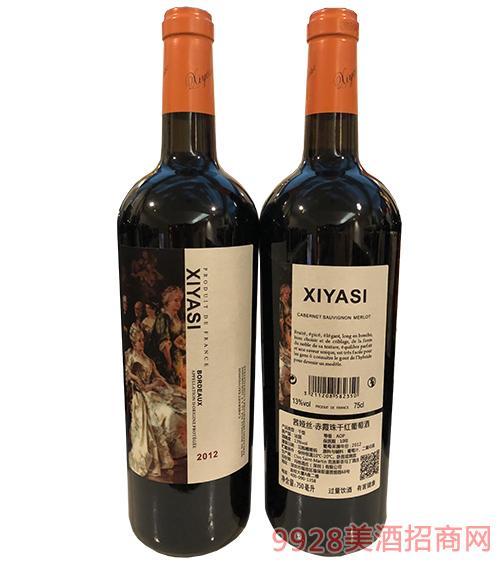 茜娅丝赤霞珠干红葡萄酒