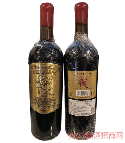 巴菲狮特选干红葡萄酒