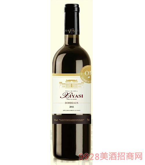茜娅丝古堡干红葡萄酒