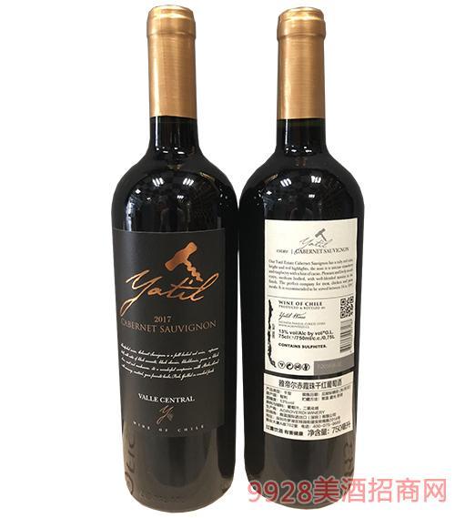 雅帝尔赤霞珠干红葡萄酒