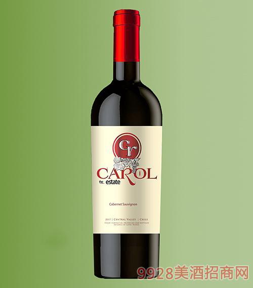 智利卡洛雅赤霞珠干红葡萄酒