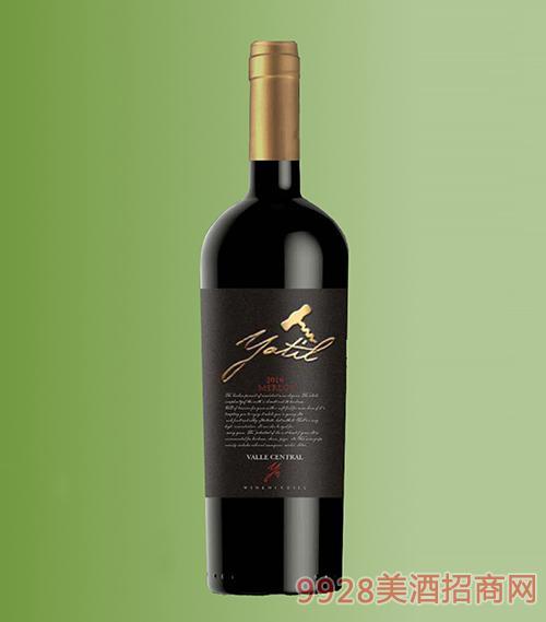智利雅帝尔黑标赤霞珠干红葡萄酒