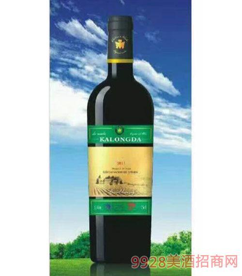 卡隆达有机干红葡萄酒