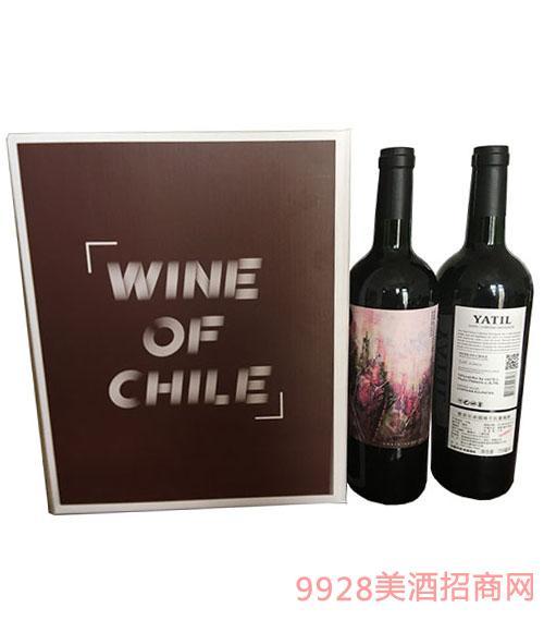 雅帝��赤霞珠干�t葡萄酒