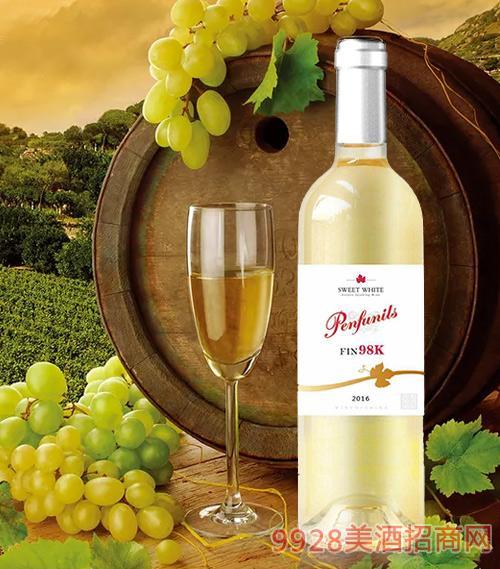 奔富尼澳甜白葡萄酒8度750ml