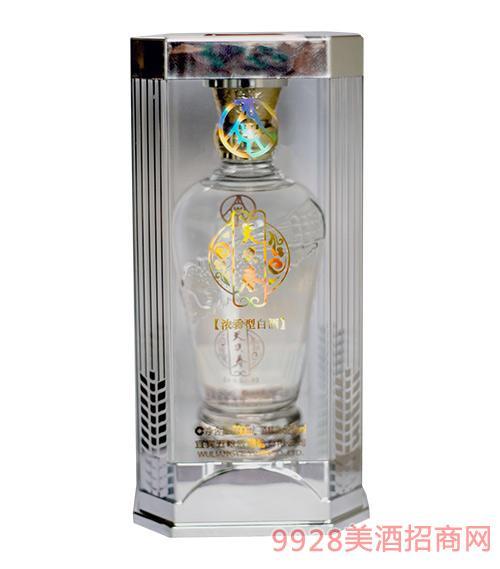 天贝春酒水晶52度500ml