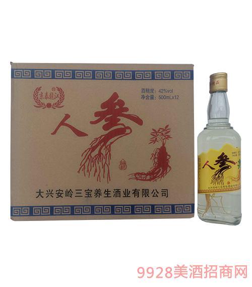 郭老师醇香绵柔苦荞酒42度 500ml