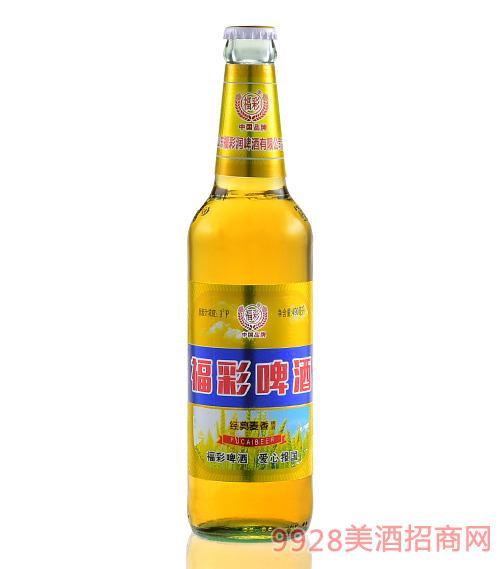 福彩啤酒瓶装