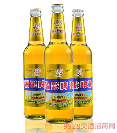 福彩啤酒三瓶装