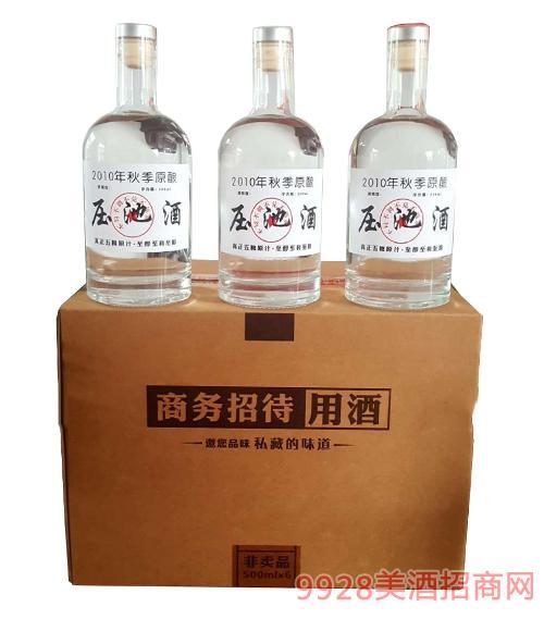 2010年秋季原酿压池酒