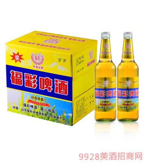 福彩啤酒箱装490mlx12