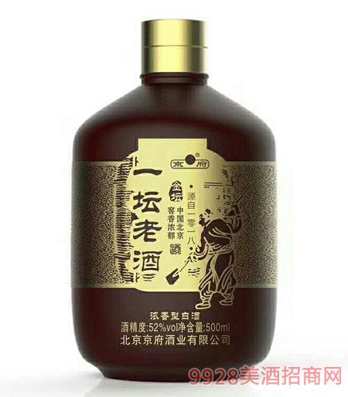 一坛老窖金坛酒52度500ml