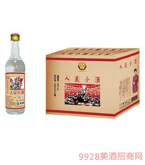鹏贵缘人民小酒42度500mlx12