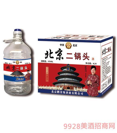 北京二鍋頭4L桶裝酒