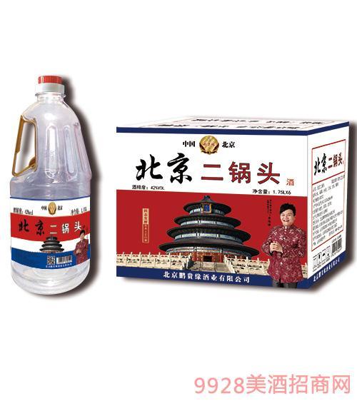 鹏贵缘北京二锅头1.75升桶酒