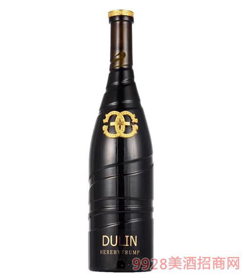 杜琳兹娜王牌干红葡萄酒13度750ml