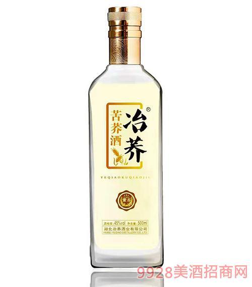 冶荞紫荞苦荞酒45度500ml