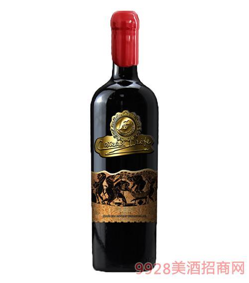 歌图人生·至尊干红葡萄酒 16度750ml